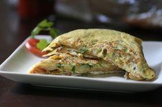 Omelette a las finas hierbas