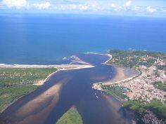 contro do Rio de Contas com o mar