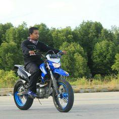 Kawasaki klx supermoto freeride