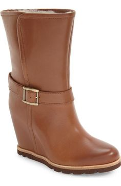 'Ellecia' Wedge Boot (Women) Orig.: $184.95 Was: $123.92 Now: $99.13