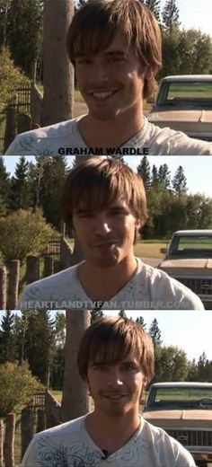 Amy And Ty Heartland, Heartland Tv Show, Ty Borden, Ty And Amy, Graham Wardle, Tv Shows, Smile, Fan, Actors