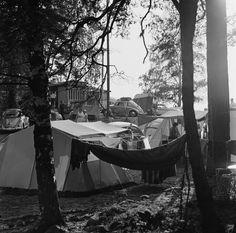 Camping, Lauttasaari, Helsinki. Photo: Volker von Bonin 1960