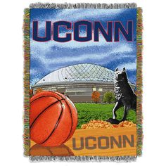 University of Connecticut Tapestry Throw Blanket