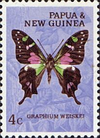 Butterfly Stamp Us Postage Stamps | Butterfly Stamps Stamp Papua New Guinea 1966 Butterflies SG 84 Fine ...