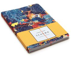 Schema, notebooks with cover designs by James Jean