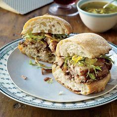 Crispy Pork Belly Sandwiches with Meyer Lemon Relish // More Amazing Sandwiches: http://www.foodandwine.com/slideshows/sandwiches #foodandwine