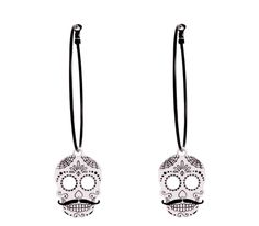 Spider Web embellished Sugar Skulls have been a big hit with the ladies, must be that dapper tash! Skull Jewelry, Sugar Skull, Dapper, Gentleman, Spiderman, Pendant Necklace, Jewels, Lady, Earrings