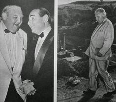 Ludwig Erhard & Adnan Menderes 1959
