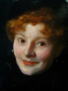 Madame Paul Escudier (detail) // John Singer Sargent (1882)   /  Flickr kruzito_357