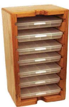 Fly Furniture WFB-12 Closet | Anglers Image | Hook/Material Storage | Fly Tying Tools | Bob Marriott's Flyfishing Store