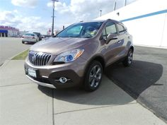 This is our Cocoa Silver Metallic 2014 Buick Encore! Find it online to see what is so special about it!