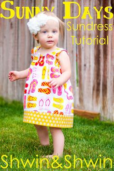 Sunny Days Sundress || Tutorial