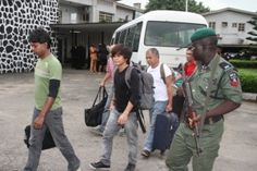 ASTERIS SHIP ,SUSPECTS TRIAL AT THE FEDERAL HIGH COURT       LAGOS 011