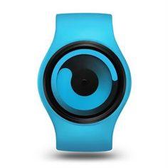 El Reloj Ziiiro Gravity Ocean Ocean, original diseño en color azul celeste, caja intercambiable de acero y correa en una resistente siliciona. #gravity #azul #blue