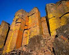 Basalt columns in Oregon's high desert