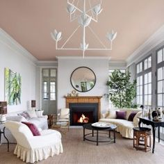 Colorful Ceilings That Add Unexpected Contrast to Any Room