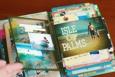 As promised, here is an in-depth look at my finished Travel Journal... The covers were created by me using the Bazzill Glazed Chipboard .  A...