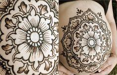 Blue Lotus Henna | Custom Henna Tattoo Design in Portland Oregon