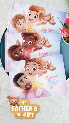 The World's Best Personalized Books for Kids Diy Father's Day Gifts, Father's Day Diy, Cute Gifts, Diy Arts And Crafts, Crafts For Kids, Diy Crafts, First Fathers Day, Happy Fathers Day, Daddy Gifts