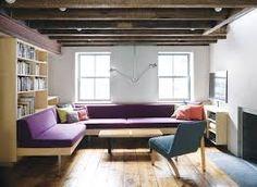 Image result for modern built-in sofas