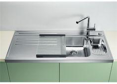 Blanco AXIS 6 S-M heldekkende beslag 1200 x 620 mm, kum venstre