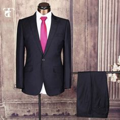 2016 Hot Sale Latest Men Suit Design Slim Fit With Long Sleeve Business Male Suits men Wedding black navy blue Bleiser Masculino