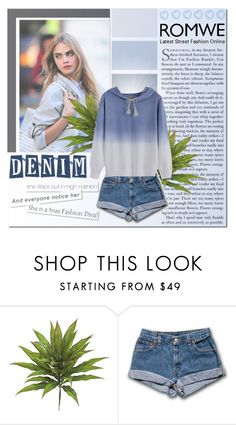 """""""Denim blue"""" by becky12 ❤ liked on Polyvore featuring Seed Design"""