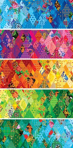 Who would've thought, rainbow colours: Sochi 2014 Look of the Games by Peter Belov, via Behance