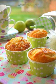 Muffins moelleux au citron (recette facile)