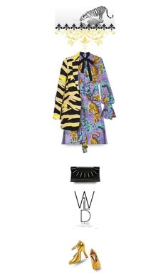 """Wild thing"" by collagette ❤ liked on Polyvore featuring Gucci, Topshop, Diane Von Furstenberg, topshop, gucci and diannevonfurstenberg"