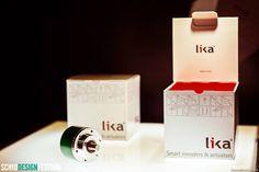 7 - Dal punto di vista strutturale, il packaging è colorato anche all'interno, in colore rosso pantone, anche se l'imballo è stampato a tre colori solo su un lato; grazie ad una particolare piegatura, il cartone utilizzato risulta doppio, rendendo più resistente la scatola. #Skatola #encoder #Lika