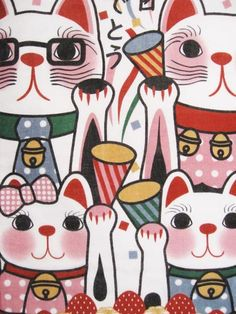 mensagem Tenugui - Feliz Aniversário / Animal   Presentes japoneses Tenugui loja online - wuhaonyc