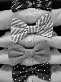 Bow ties! Because bow ties are cool...