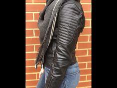 www.adoseofblog.com Leather jacket and blanket scarf Blanket Scarf, Leather Jacket, Jackets, Fashion, Studded Leather Jacket, Down Jackets, Moda, Leather Jackets, Fashion Styles