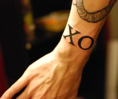 Want the XO on the back of my neck, pronto, please and thank you