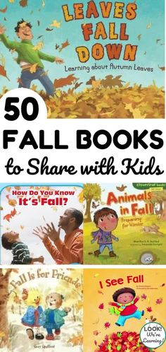 Autumn Activities For Kids, Fall Preschool, Preschool Books, Book Activities, Preschool Ideas, Fall Books, Thanksgiving Books, Toddler Books, Childrens Books