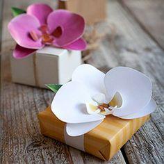 Paper orchid  Follementeconamore: DIY