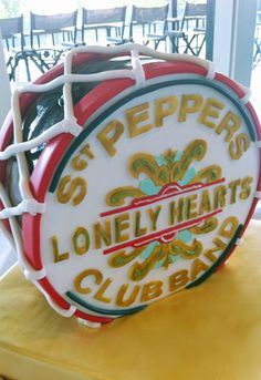 "Sgt. Pepper's ""Lonely Hearts"" Club Band cake"