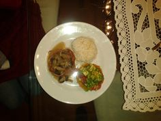 Filet Migñon Grains, Rice, Food, Filet Mignon, Meals, Yemek, Jim Rice, Eten, Brass