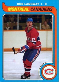 Rod Langway Canadiens JJPrevost on Pinterest
