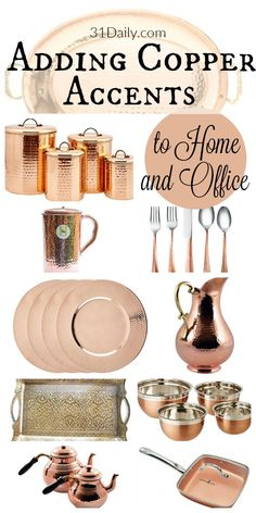 Warming Up Your Home with Copper Accents | 31Daily.com