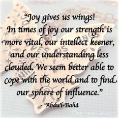 A Baha'i quote by Abdu'l-Baha for your spiritual contemplation and meditation.