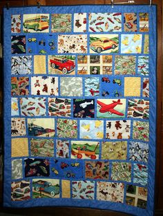 Nate's I Spy Quilt | by jennie-robyn