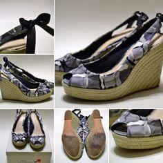 Coach Shoes - Coach-Maritza Kaleidoscope Print Wedges