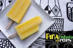 PINA COLADA ICE POPS // shutterbean
