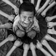 Made me smile large.  Circle for Togetherness by Alamsyah Rauf.