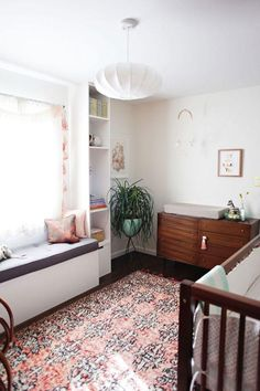Bohemian Nursery :: Boho Chic :: Baby's Room :: Home Decor + Design :: Free Your Wild :: See more Untamed Nursery Style Inspiration Kid Spaces, Living Spaces, Living Room, Deco Kids, Nursery Inspiration, Style Inspiration, Nursery Ideas, Nursery Design, Interiores Design