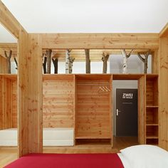 Hotel Forsthaus by Naumann Architektur. One double room please.