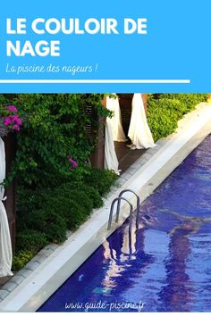 Le couloir de nage : la piscine idéale pour les nageurs désirant faire des longueurs dans leur jardin. #piscine #couloir #nage #natation #jardin Outdoor Decor, Home Decor, Gardens, Corridor Design, Olympic Swimming, Diving Board, Swimmers, Decoration Home, Room Decor