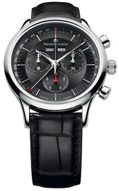 @mauricelacroix Watch Les Classiques Day Date Month Chrono #best-seller-yes #bezel-fixed #bracelet-strap-alligator #brand-maurice-lacroix #case-material-steel #case-width-40mm #chronograph-yes #date-yes #day-yes #delivery-timescale-4-7-days #dial-colour-black #gender-mens #limited-code #luxury #movement-quartz-battery #official-stockist-for-maurice-lacroix-watches #packaging-maurice-lacroix-watch-packaging #perpetual-calendar-yes #style-dress #subcat-les-classiques…